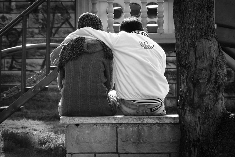 Lovers in the Park