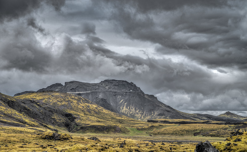 Just Another Iceland Mountain   Photography by Wayne Heim