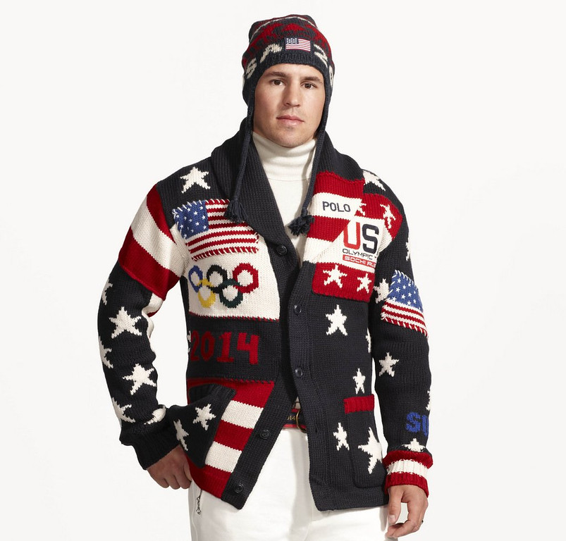 ". <p><b> U.S. Olympic fans were a bit chagrined last week when they got a load of the Americans� opening ceremonies uniforms, which were designed by� </b> <p> A. Ralph Lauren <p> B. Bill Cosby <p> C. Stevie Wonder <p><b><a href=\'http://www.twincities.com/sports/ci_24977390/zach-parise-fashion-model-wild-star-shows-off\' target=""_blank\"">HUH?</a></b> <p>  <br> <p><b>ANSWERS</b> <p> The correct answer is always \""A\"" ... unless you feel very strongly otherwise. <p> <br><p> You can follow Kevin Cusick at <a href=\'http://twitter.com/theloopnow\'>twitter.com/theloopnow</a>.   (AP Photo/Ralph Lauren)"