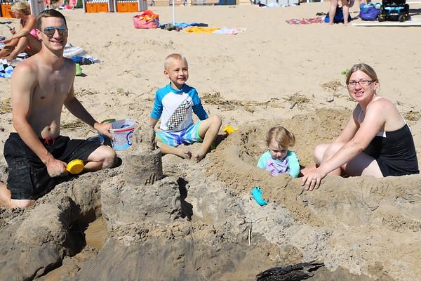 Fun at the Beach - Grand Haven - Jul 2018