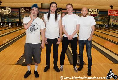 The Dead Ladens - Punk Rock Bowling 2012 Team Photos - Squad 2 - Sam's Town - Las Vegas, NV - May 26, 2012