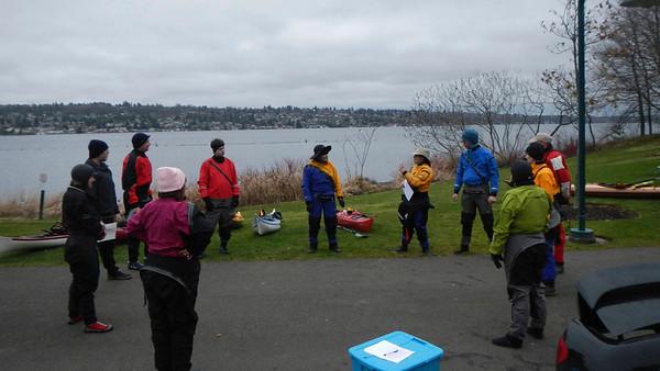 Intro to kayaking (Feb 2013)
