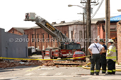 Knowlton St. Building Collapse (Bridgeport, CT) 6/24/10