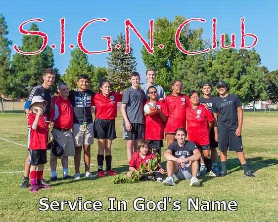 S.I.G.N. CLub 9-22-17