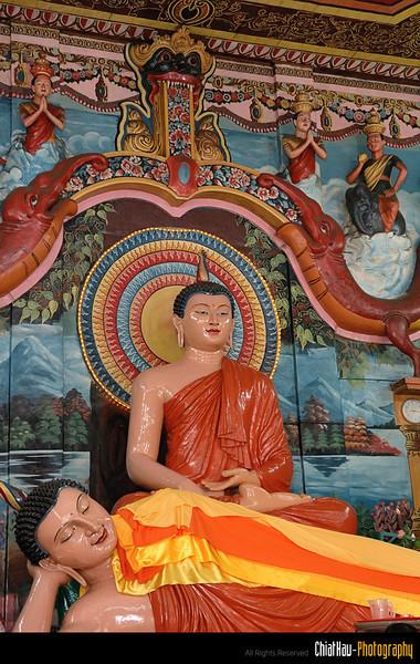 Buddha statue.
