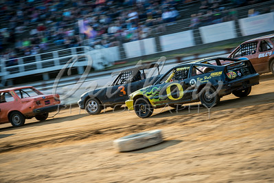 Coos Bay Speedway - Dirt Oval - August 9, 2014