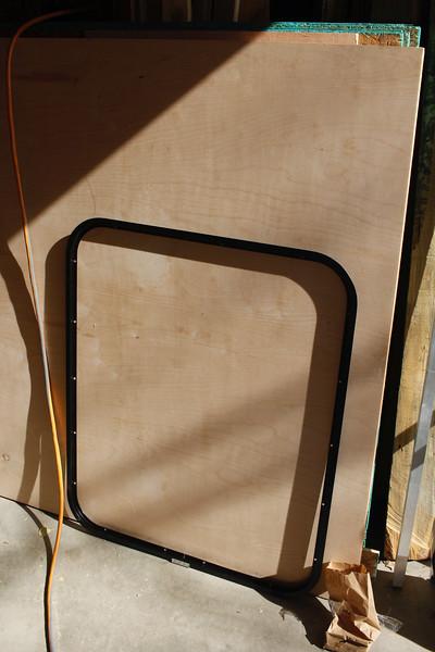 trim ring for the door