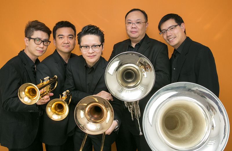 2013 (Hong Kong) Brass Quintet Photo