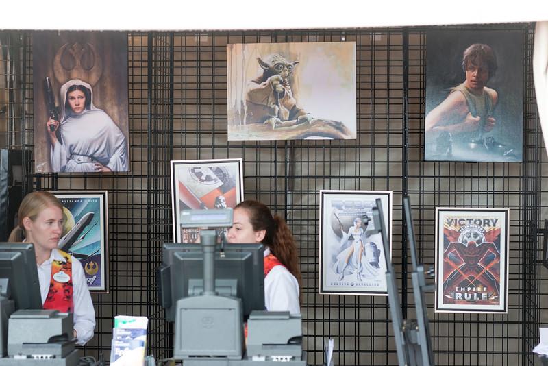 Star Wars Art - Epcot International Festival of the Arts 2017