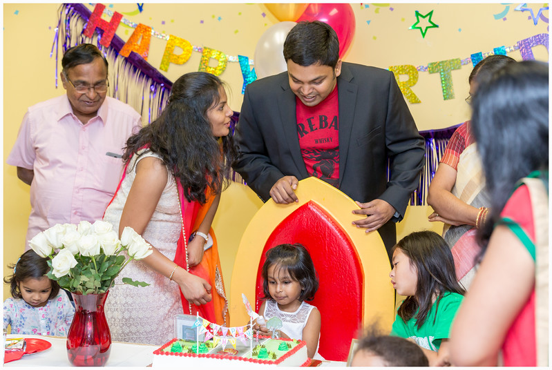 Sarayu 4th Birthday