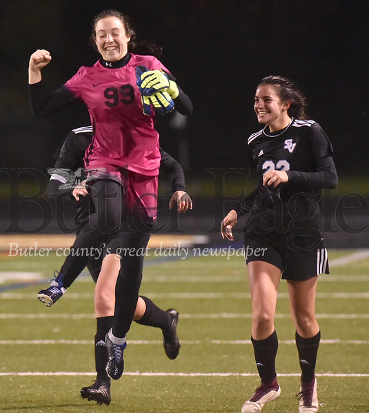Seneca Valley vs Upper St.Clair  WPIAL Class 4A Girls soccer semi-finals playoff game at North Allegheny
