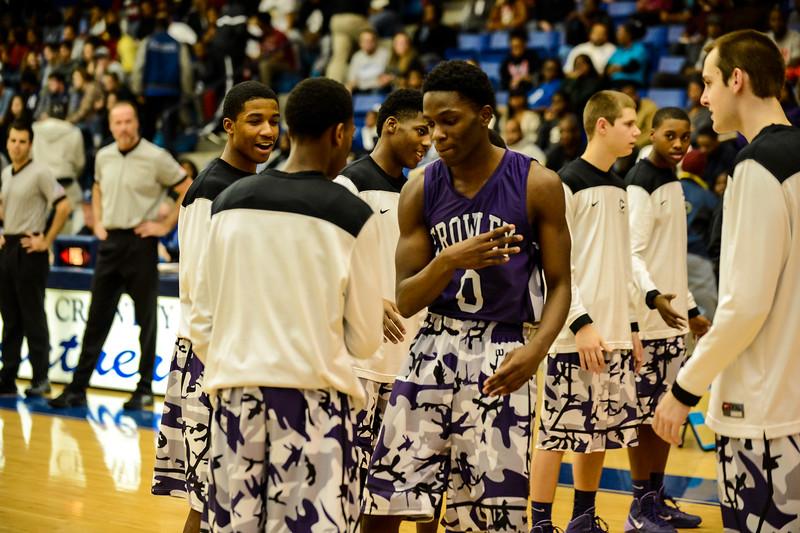 Basketball Varsity Boys vs  Crowley 12-11-13-15