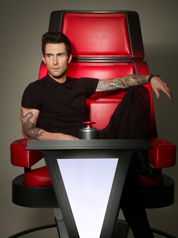 . THE VOICE -- Season: 4 -- Pictured: Adam Levine -- (Photo by: Mark Seliger/NBC)