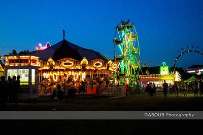 Night Time Fair Photography