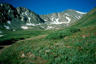 Torreys & Grays Peaks July 2000