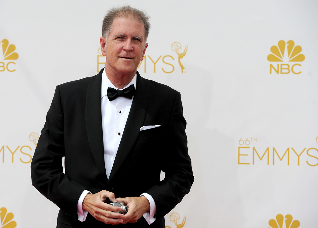 . Allan Havey on the red carpet at the 66th Primetime Emmy Awards show at the Nokia Theatre in Los Angeles, California on Monday August 25, 2014. (Photo by John McCoy / Los Angeles Daily News)