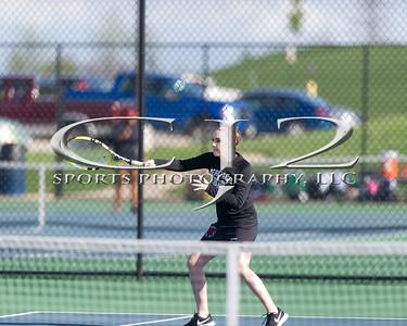 4-17-2017 Heritage at Woodgrove Girls Tennis