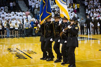 NKU Men's Basketball vs West Virginia University 12-7-2014