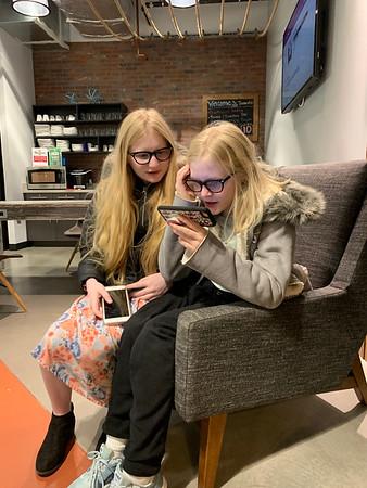 Madison and Kaetlyn Try eSight