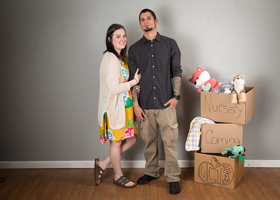 Sarah and Mike Baby Announcement