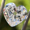 3.47ct Antique Heart Shaped Diamond GIA F SI2 14