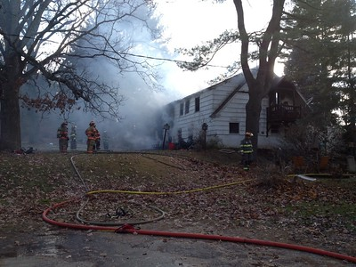 Structure Fire - 900 East St, Ludlow, MA - 11/21/14