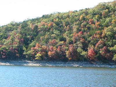 Fall 2003 on Table Rock Lake