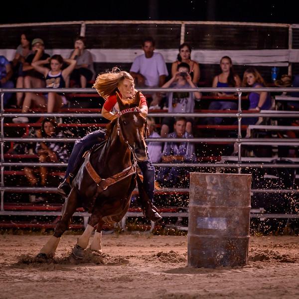 Lee Posse Jackpot 9/7/2012 - Barrels
