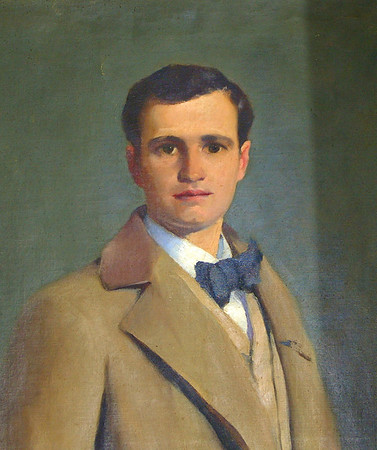 Oil Portrait by Patrick Henry Bruce ( 1881-1936 ) of Hugh McCulloch (March 9, 1869 - March 27, 1902) who was an American poet.  And two poems written by Bruce about his model.  To contact me about this site email me at  ....  ray@webmail.us