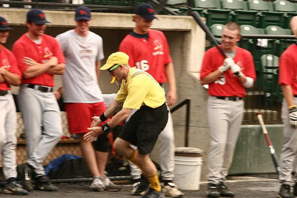 vs. Maryland Redbirds, Povich Field, 7/12/06 - Fans, Friends, Family, Fun