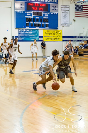 20180223_Manchester Valley v Magruder Boys Basketball