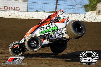 Grandview Speedway USAC Sprints - 6/11/19 - Steve Sabo (SDS)