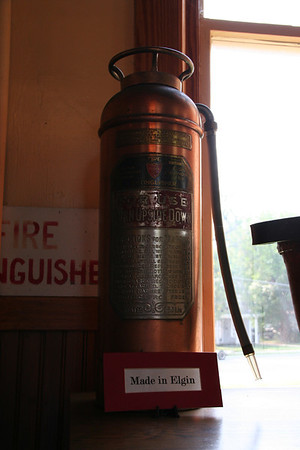 ELGIN FIRE MUSEUM, ELGIN ILLINOIS