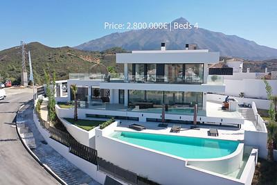 Modern villa Nueva Andalucía
