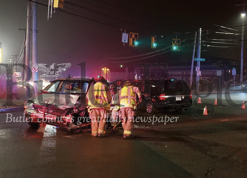 Auto Wreck at Duffy Road Intersection