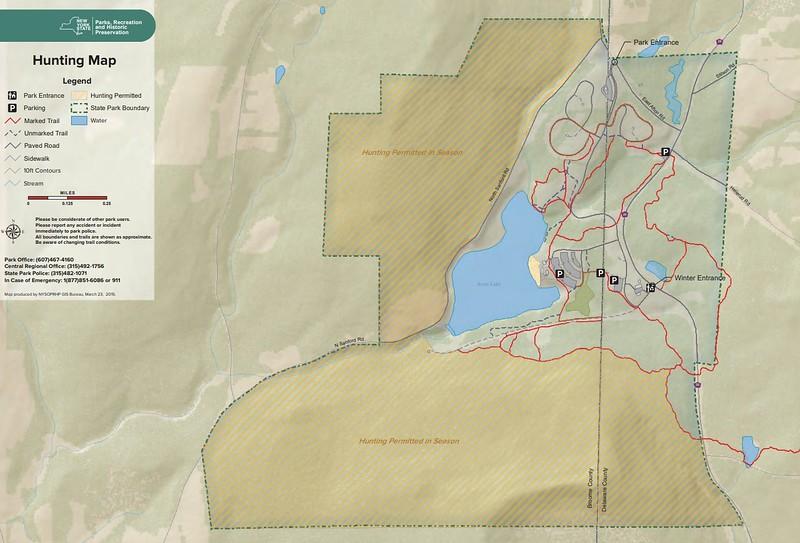 Oquaga Creek State Park (Hunting Map)