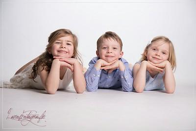 Communie Pauline,  Leonie & Victor