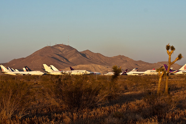 Airplane graveyard in the Mojave - May 2009