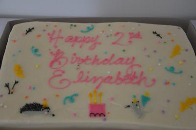 Elizabeth's 2nd Birthday