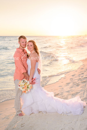 Mr. and Mrs. Seward  |  Spinnaker Beach Club.  Panama City Beach