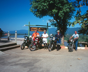 motorcycle photos from various trips