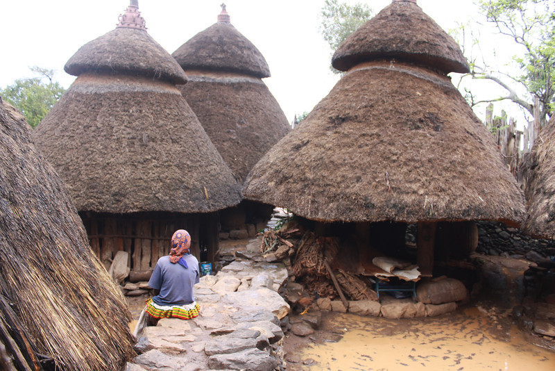 compound of the Konso king