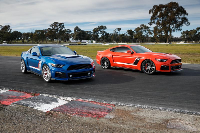 Motor Magazine Mustang Shootout