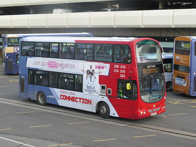 HUDDERSFIELD SHEFFIELD BUSES MARCH 2020