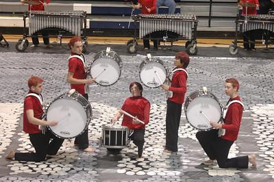 Winter Percussion Blue Line