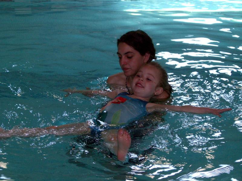 Swim lessons - week 5