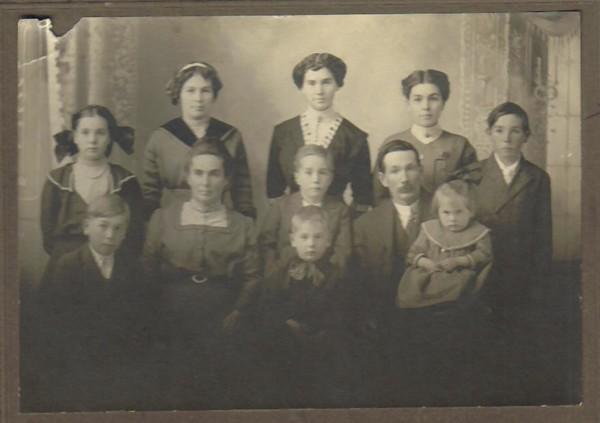DeEtta's Childhood Family