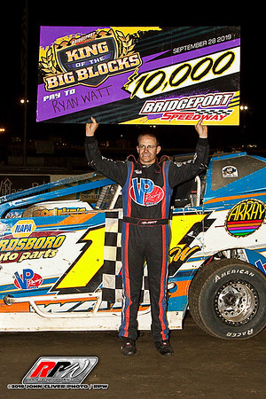Bridgeport Speedway - 9/28/19 - John Cliver