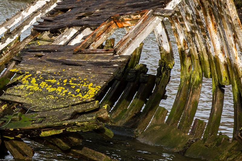 Hooe Lake Wrecks 5