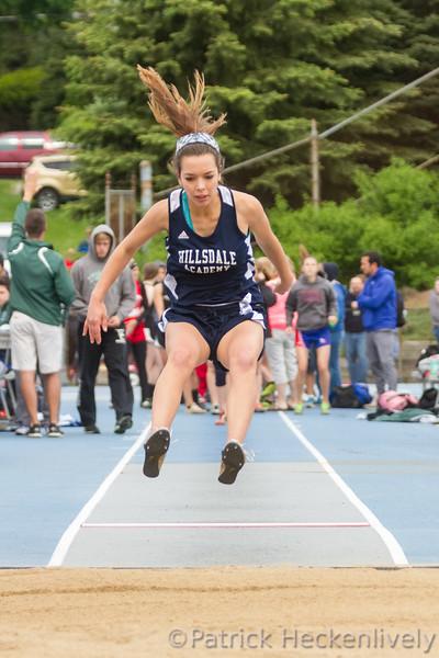 2016-05-21 Hillsdale Academy Varsity Track at Regional Meet